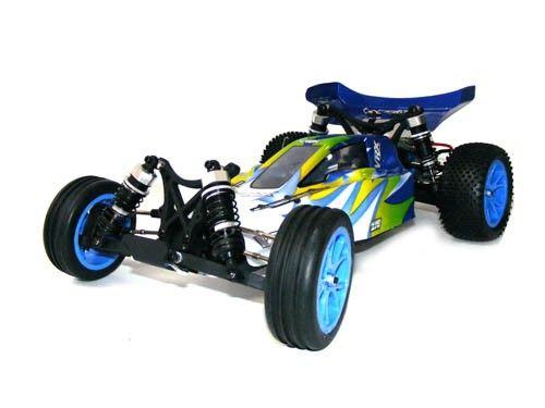 VRX Racing: Bullet EBD 2WD 2.4GHz - modrá