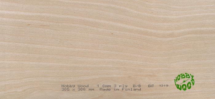 Hobby Wood Brezová preglejka 4,5 x 300 x 305 mm