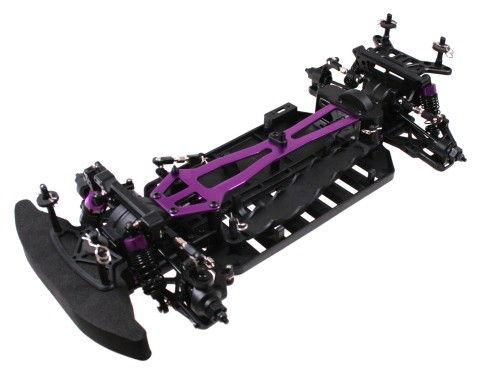 Himoto Nascada - podvozok pre závodný model 1:10