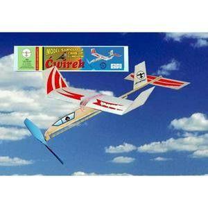 Hádzadlo HM: lietadlo ČWIREK s gumovým pohonom