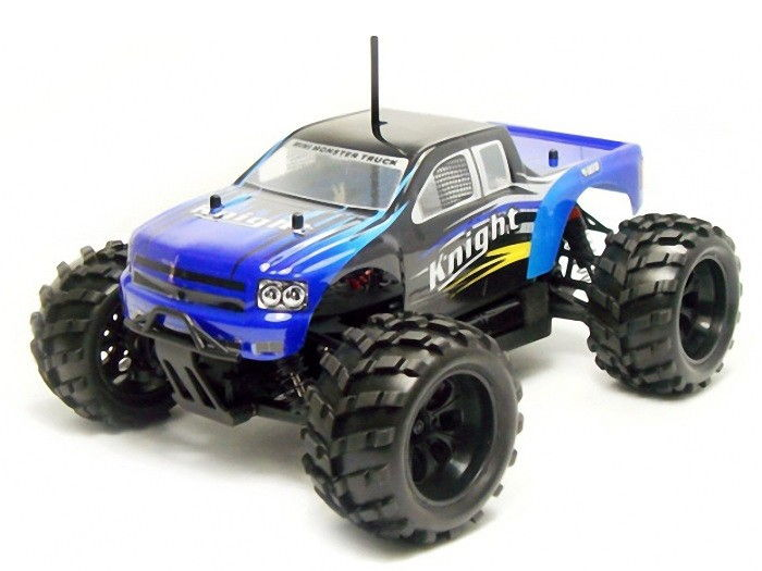 Karoséria Himoto: Monster Truck MiniZi / Knight 1/18 telo - modré