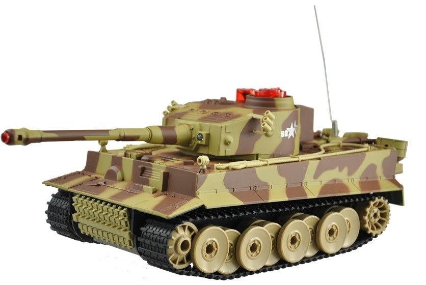 RC tank UF: German Tiger 2.4GHz RTR 1:24 - Žltý