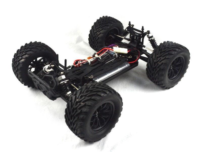 RC auto VRX Racing: Sword Mega MT EBD 2.4GHz - čierny