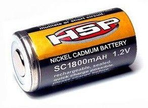 Batéria (článok) Ni-Cd 1,2 V 1 800 mAh