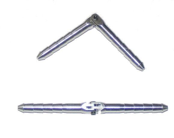 MP JET: Hliníkový valcový záves s čapom (odnímateľný) 4,5 x 70 - 2 ks