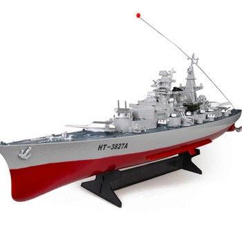 RC Bojová loď na ovládanie Bismarck HT 1: 360 2,4 GHz RTR