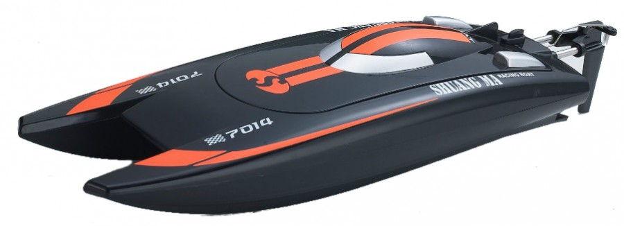RC Motorový čln Double Horse 7014 2.4GHz RTR 14km / h - oranžová