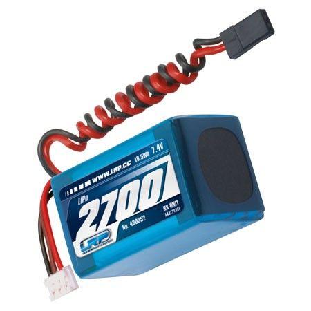 2700mAh 7.4V LiPo VTEC RX-Pack 2 / 3A - prijímač