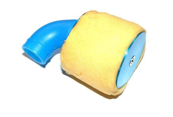 Hliníkový tuningový vzduchový filter s kolenom (mierka 1: 8) - N10004