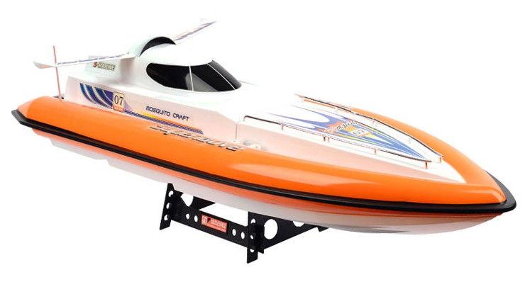 RC motorový čln Double Horse Superlative oranžový