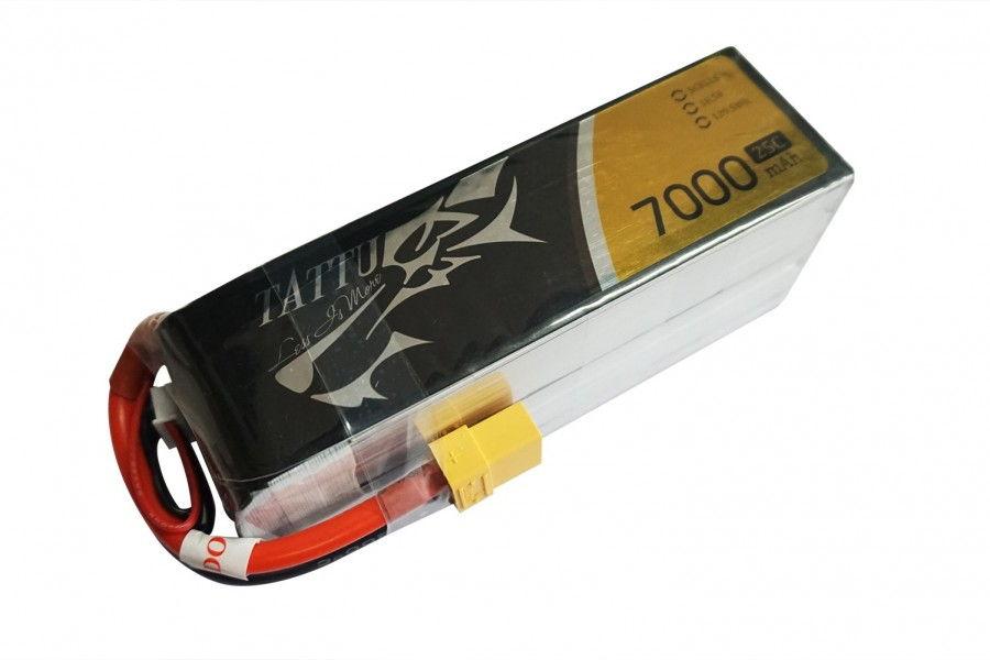 7000mAh 18.5V 25C TATTU Gens Ace