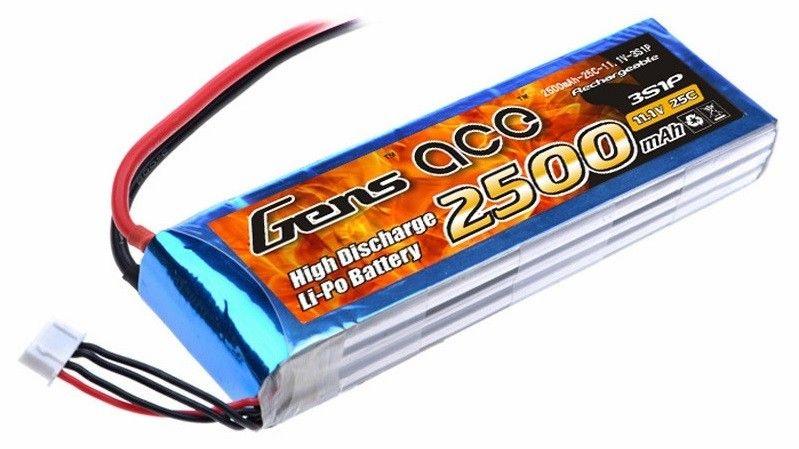 2500mAh 11.1V 25C Gens Ace