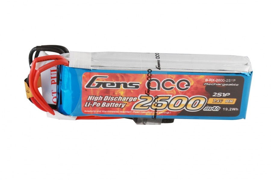 Batéria Gens Ace & TATTU: 2600mAh 7.4V Transmitter Pack