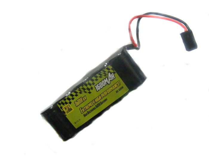 GPX 1600mAh 6V NiMH JR - plochý