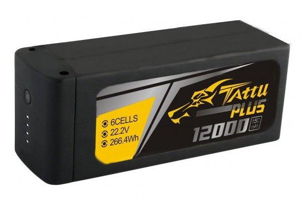 Lipo batéria 12000mAh 22.2V 15C TATTU Plus Gens Ace