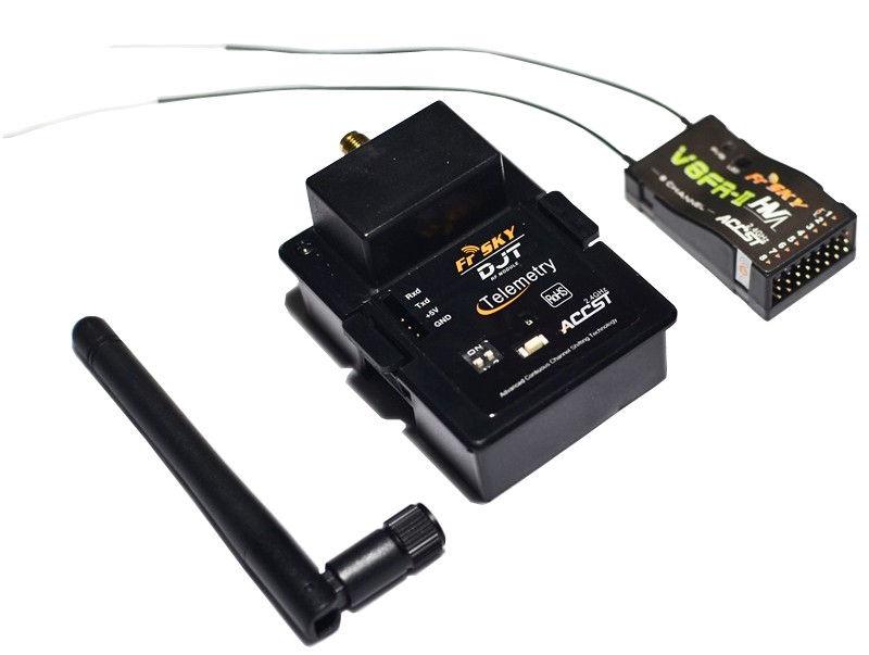 Vysielací modul FrSky DJT JR (combo 3) - DJT + V8FR + 2 dB anténa