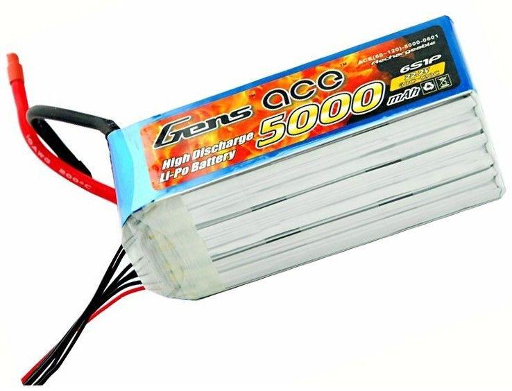 5000mAh 22,2 V 60 / 120C Gens Ace