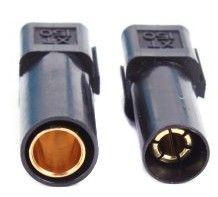GPX Extreme Pár konektorov X150 (čierny)