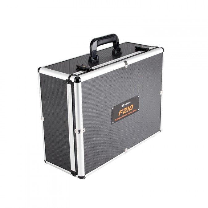 Hliníkový kufor pre Walkera F210 dron a prístroje