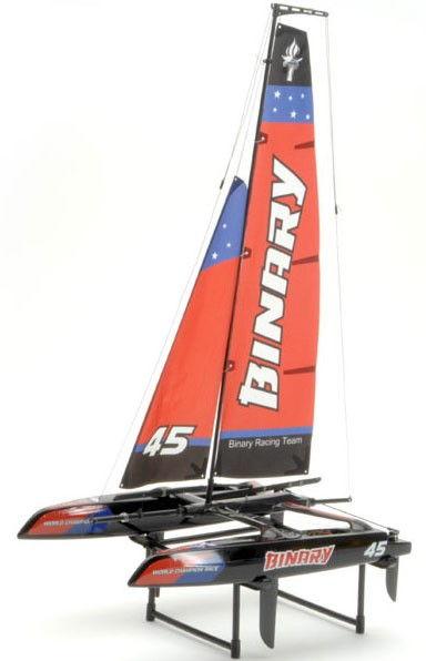 Joysway: RC plachetnica Binary Catamaran RTR 2.4GHz, 2CH - červená