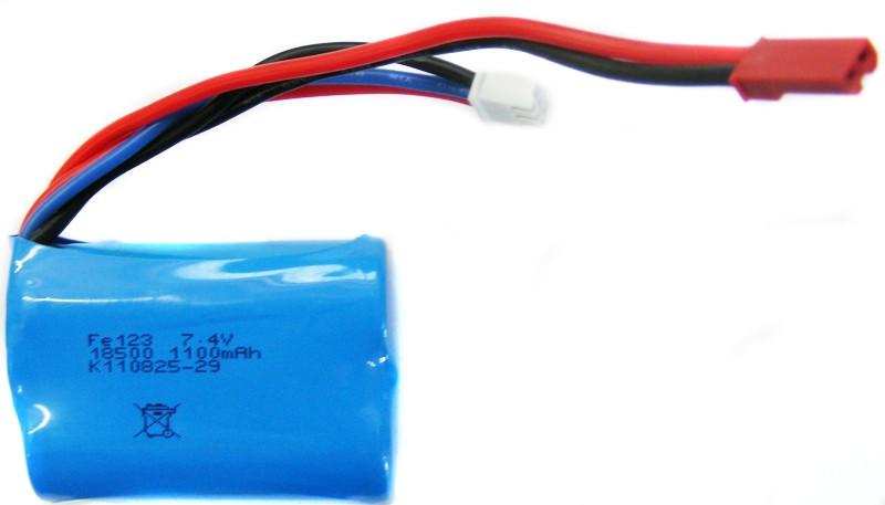 Batéria 1100mAh 7.4V Li-Ion JST Double Horse 7012