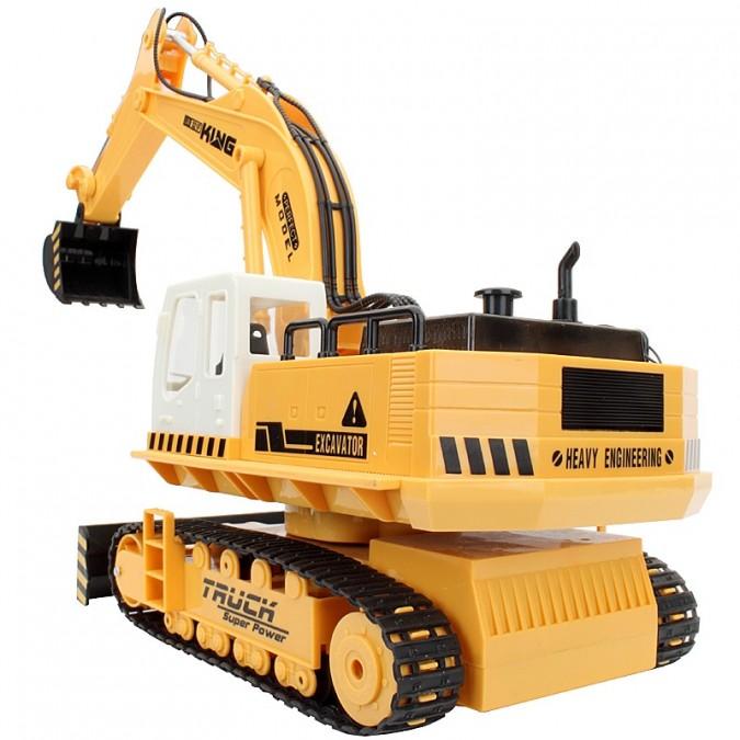 RC pracovný stroj na diaľkové ovládanie HUINATOYS Bager 1:16 11CH 27MHz RTR