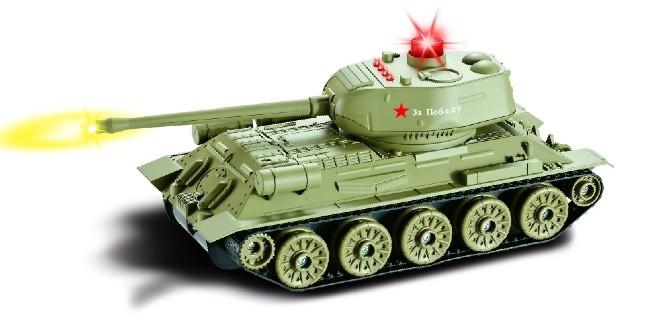 RC tank na ovládanie UF: Russian T34 Rudy, 1:24