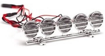 Sada LED svietidiel na páse (chróm)