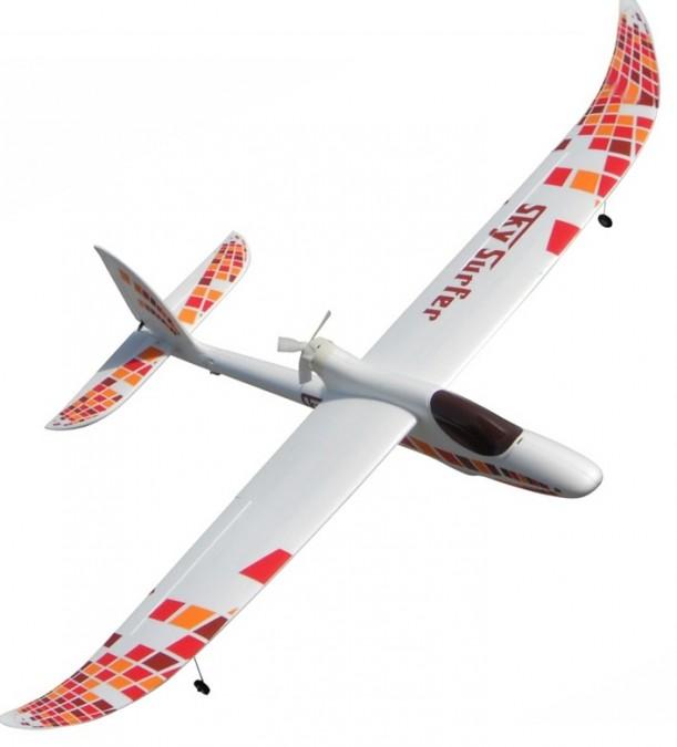 RC lietadlo Sky Surfer 2M 4CH FPV RTF (200cm rozpätie, 30A regulátor, brushless motor)