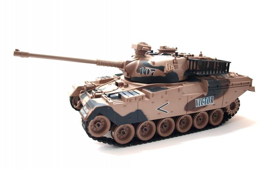 RC tank na ovládanie Zegan,  M60 Victor 1:18 RTR ASG - BB streľba
