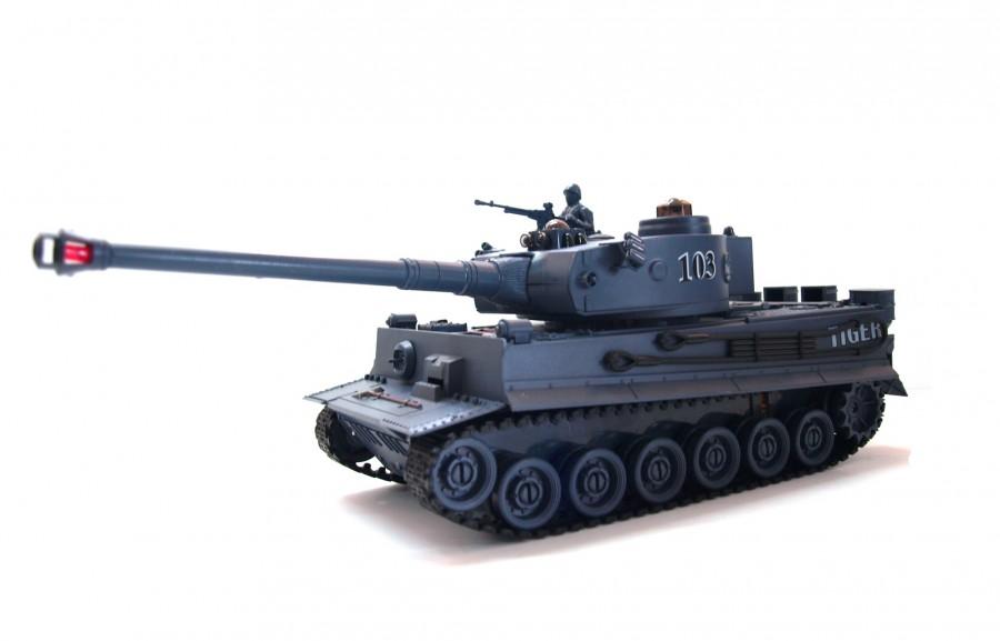 RC tank na ovládanie German Tiger 1:28 2.4GHz RTR