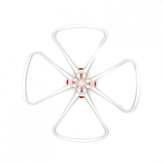 Syma Ochranné kryty vrtule (biele, 4 ks) X8S-04