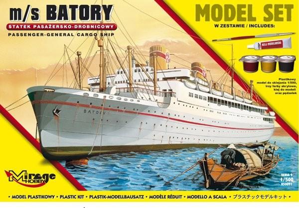 MIRAGE: m/s BATORY Polski Statek Pasażersko-Drobnicowy