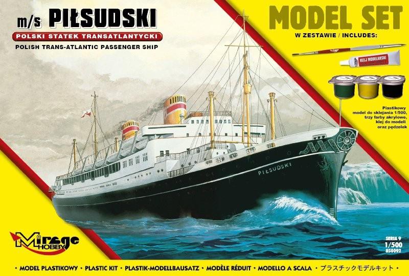 MIRAGE m / s PIŁSUDSKI Poľská transatlantická loď