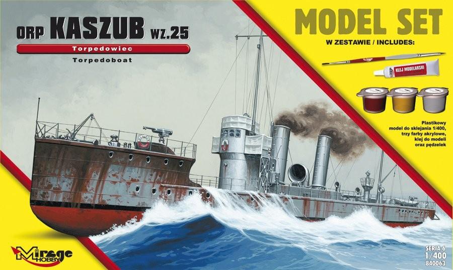 MIRAGE ORP 'KASZUB' 1935 Poľský torpédový čln