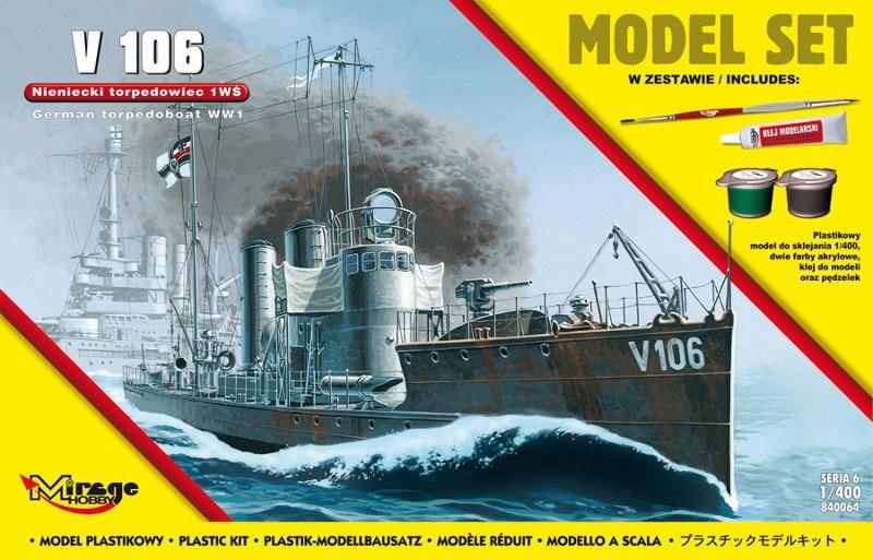 MIRAGE Nemecká torpédová loď