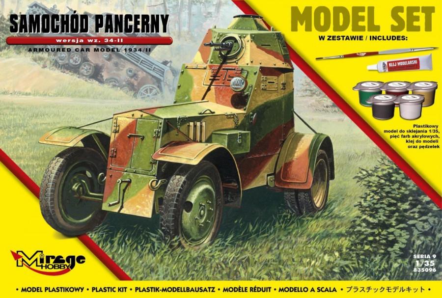 MIRAGE Obrnené vozidlo wz. 34-II