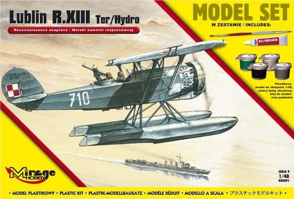 MIRAGE: Lublin R.XIII Ter / Hydro poľské námorné prieskumné lietadlo