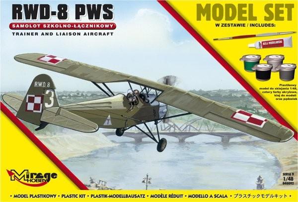 Plastový model na lepenie MIRAGE: R.W.D.-8 PWS Polish School Liaison
