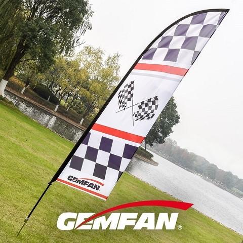 Vlajka 60x360cm GEMFAN pre preteky