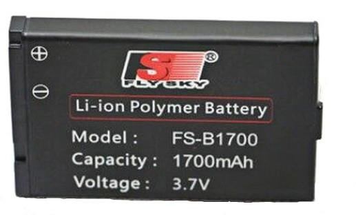 1700mAh 3.7V Li-Ion FS-BA1700 FlySky - vysielač