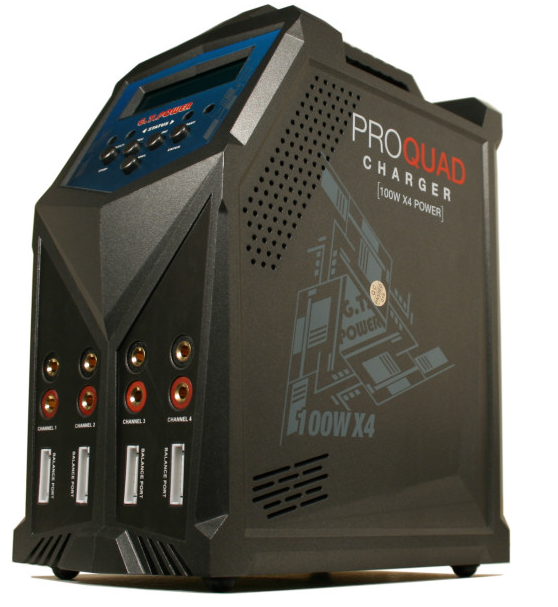 GPX Nabíjačka 4-kanálová nabíjačka 4x100W 7A 1-6S + príslušenstvo
