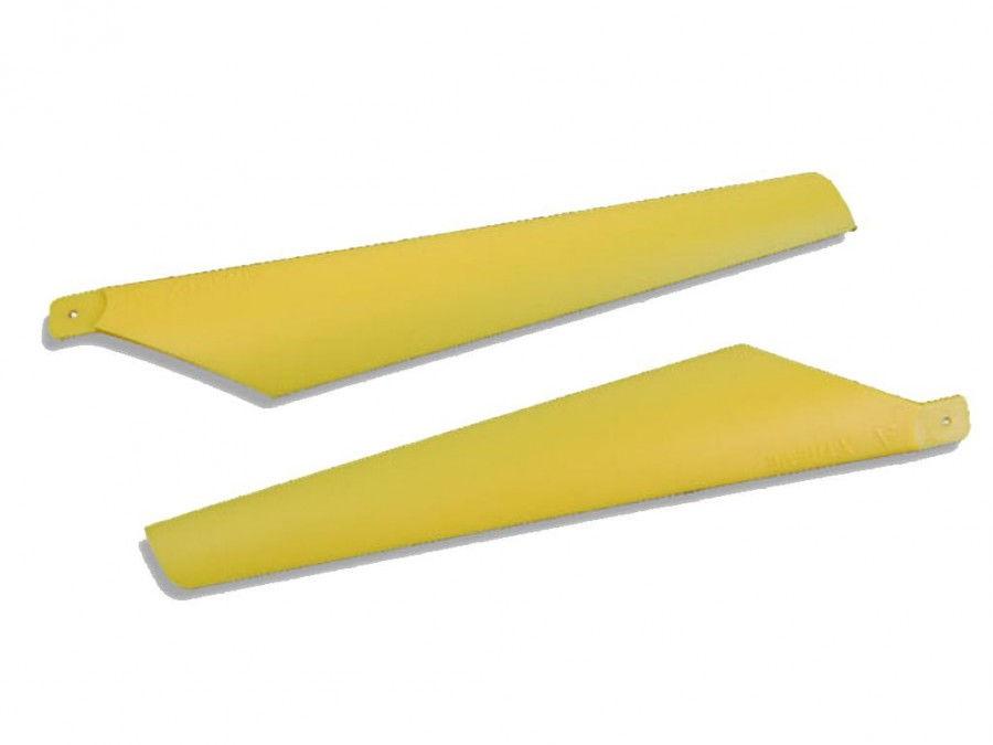 E-sky Horné listy rotora 16,5 cm - žlté