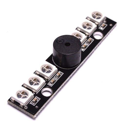 LED doska na osvetlenie 6xRGB drone