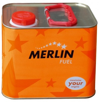 Palivo Merlin Expert Fuel 25% Car & Boat 2.5L
