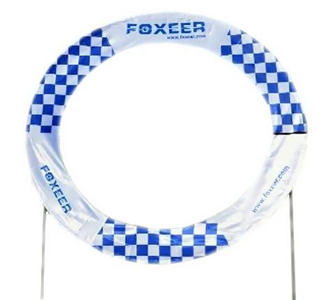Okrúhla brána 200x150x275cm Foxeer pre preteky Dronov