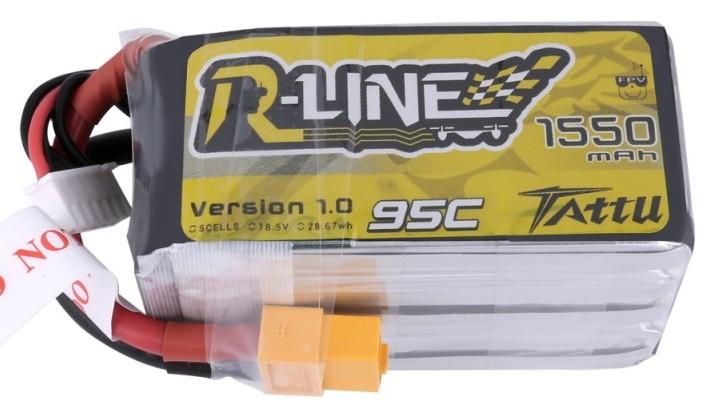 Batéria 1550mAh 18.5V 95C TATTU R-Line Gens Ace