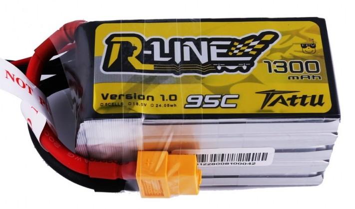 Batéria 1300mAh 18.5V 95C TATTU R-Line Gens Ace
