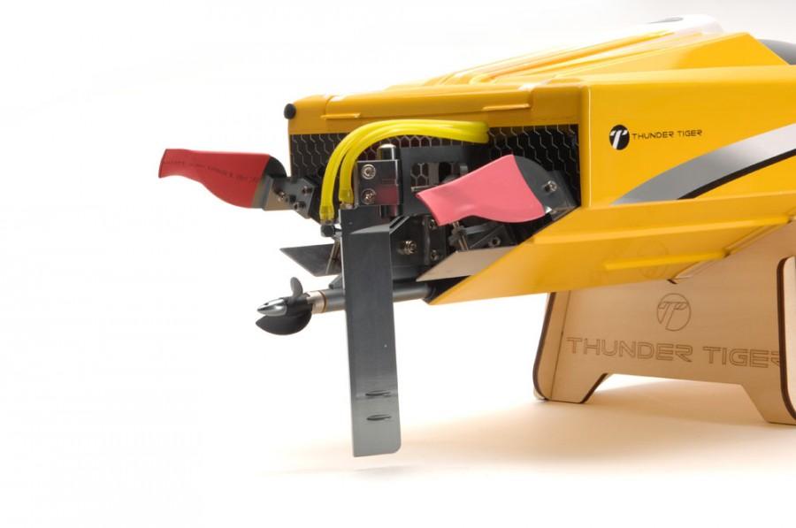 RC loď Thunder Tiger: Olympian Extreme Jet sprint racing 2.4GHz RTR brushless - zelená