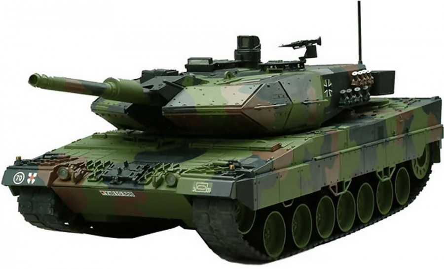 RC tank Hobby Engine Leopard 2A6 RTR 1:16 27,095MHz